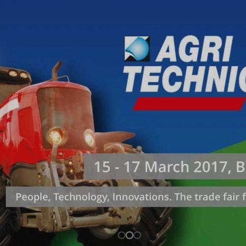AGRI TECHNICA 15 – 17 March 2017